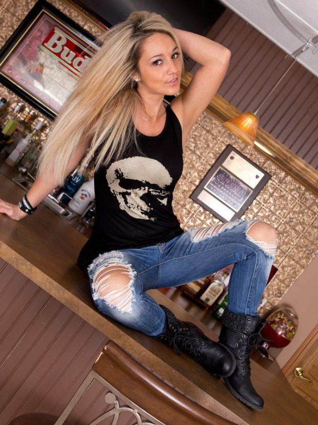 Nikki Sims Shredded Jeans