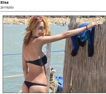 Amateur bikini girl poses for cash
